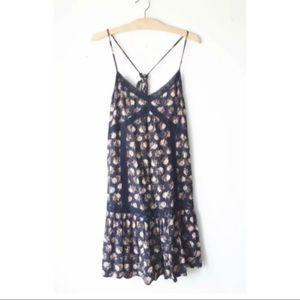NWT American Eagle AEO Floral Ruffled Dress